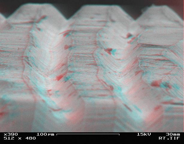 Sshhh Record Grooves Under An Electron Microscope